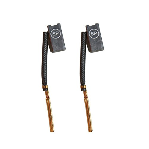 Superior Electric M18 Japanese Carbon Brush Set Fits DeWalt and Porter Cable Power Tools and Replaces Porter Cable 445861-25