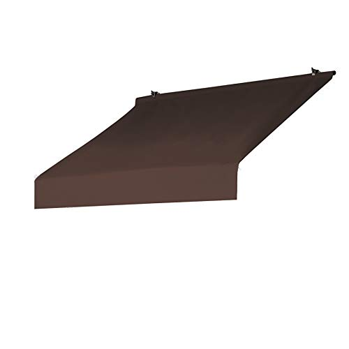 Sunsational Products Replacement Cover for Designer Window Awning - Cocoa - Size: 4' 3020872