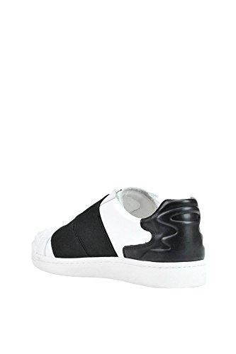 Bianca Sneakers Pelle In Mcglcak03091e Cenere Nera Z0ExqR0w