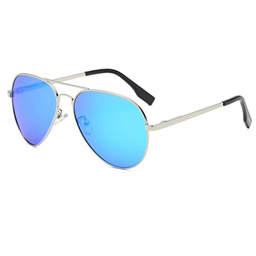 Aviator Polarized Sunglasses Aluminum Sun Glasses for Men Women UV Protection Classic Style ()