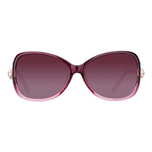 gafas protección marea sol la Gafas de Retro de C UV cara Harajuku redondas Gafas polarizadas femenina KAI sol Eyes de Color LE Nuevas A de Style EwnTIpAq