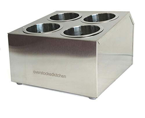 COMMERCIAL 4-HOLE STAINLESS STEEL