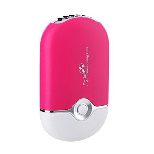ThreeCat Ventiladores de Mini Portátil USB sin Aspas Aire Acondicionado Refrigeración de Refrigeración Ventilador de Mano...