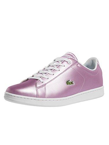 Lacoste Purple Junior EVO 1 Bianco Sneaker Carnaby Oro 218 7zw4rq78