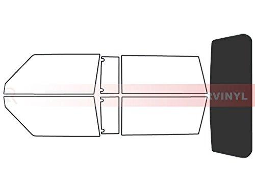 Rtint Window Tint Kit for Jeep Cherokee 1997-2001 (2 Door) - Rear Windshield Kit - 20%