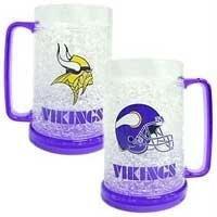 Minnesota Vikings 16oz Crystal Freezer (16 Ounce Frosty Mug)