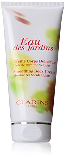 Clarins Eau Des Jardins Smoothing Body Cream for Unisex, 6.7 Ounce