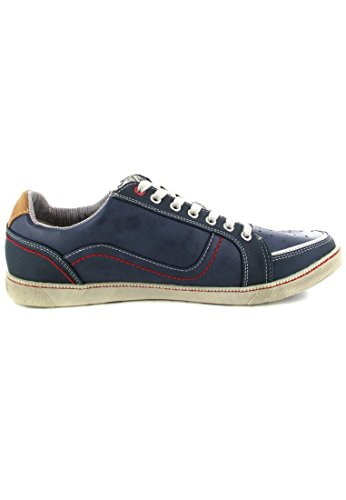 800 302 Blau Homme Blau Mustang 4073 Chaussons Sneaker ZpEq6wx