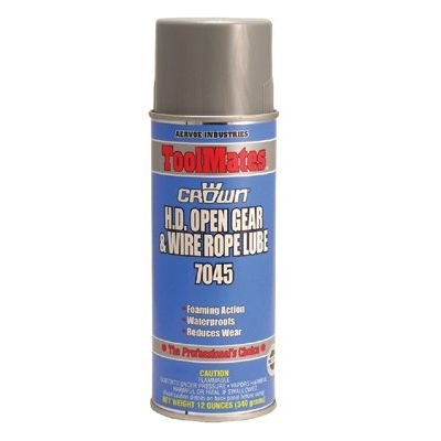 Aervoe 7045 H.D. Open Gear & Wire Rope Lube (12 Pack\'s ...
