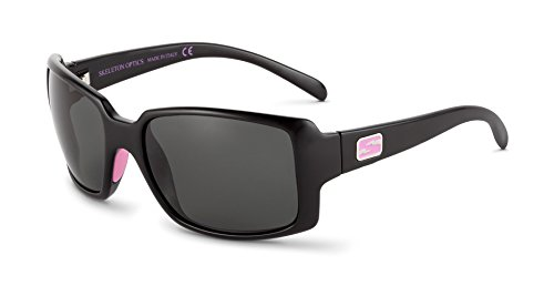 Skeleton Optics Stampede Special Edition Sunglasses, Grey/Pink, One Size ()