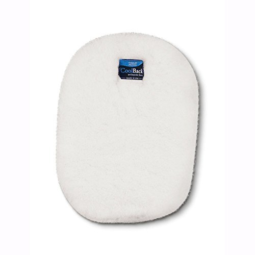 Toklat CoolBack Pommel Pad - White ()