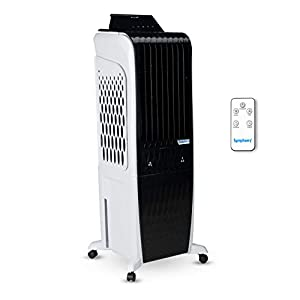 Symphony Diet 3D – 30i Personal Tower Air Cooler 30-litres with Magnetic Remote, 3-Side Cooling Pads, Pop-up Touchscreen…