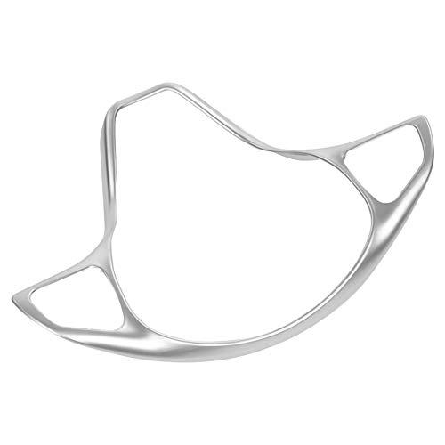 TOOGOO Auto Lenkrad Knopfrahmen Zierblende f/ür Mercedes Vito 2017 Silber Chrom