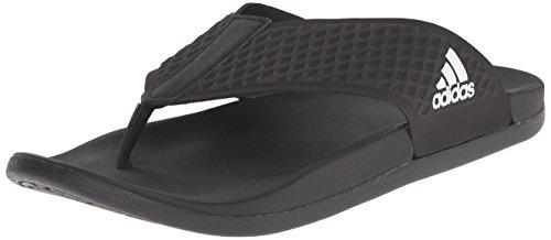 adidas Men's Shoes   Adilette CF+ Y Slide Sandals, White/Bla