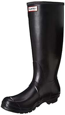 Hunter Original Tall Rain Boots Black Size 5