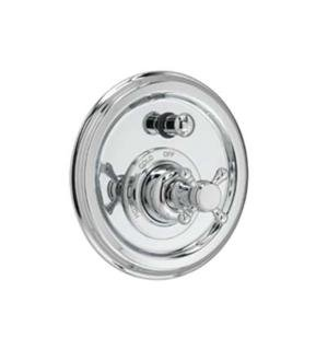(Jado 853545.150 Classic Pressure Balance Diverter Trim for Tub and Shower Sets with Cross Handle, Platinum Nickel)