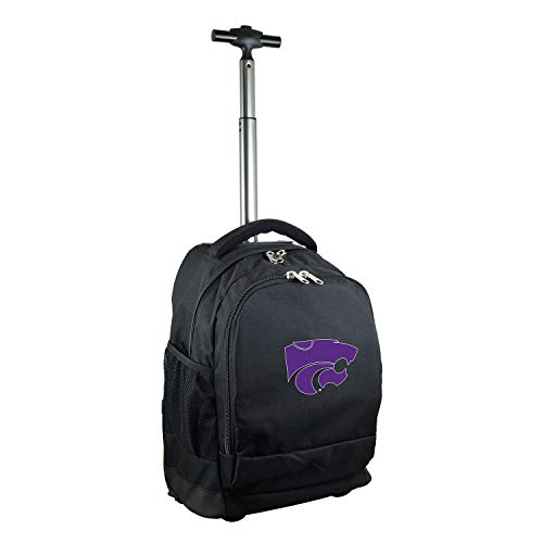 - NCAA Kansas State Wildcats Expedition Wheeled Backpack, 19-inches, Black