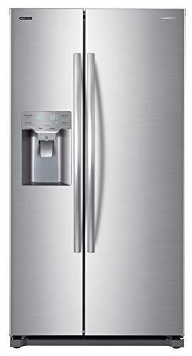Daewoo FRS-Y22D2T RFS-Y22D2T 20 Cu. Ft. Side Mounted Silver Refrigerator, includes delivery and hookup