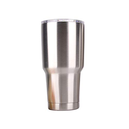 Includes Sipping Lids Duona 30 oz Stainless Steel Vacuum Insulated Tumbler for Cold and HOT Beverages Straws Cleaning Brush