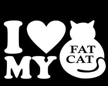 I LOVE MY MAINE COON CAT Sticker Car Truck Window Breed Kitten Heart Cute Gift