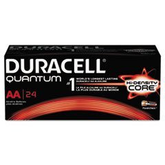 - Quantum Alkaline Batteries with Duralock Power Preserve Technology, AA, 144/Ct by MOT5