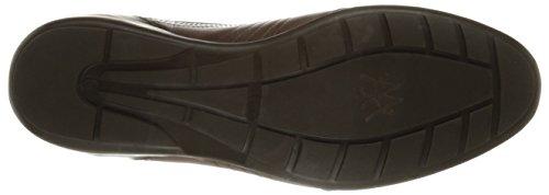 Zapatillas Moda Hombre Mezlan Hombres Castelar Marrón Oscuro