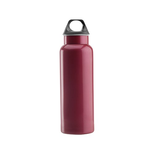 Timolino 8020.40 20-Ounce Classic Hydration Bottle Tall, Magenta Red