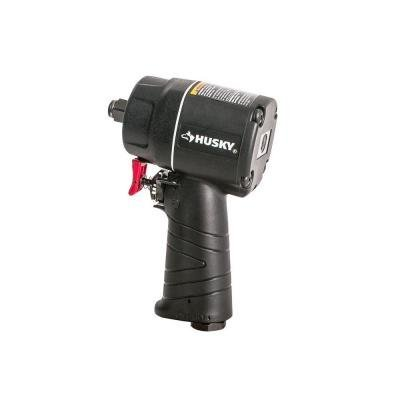 Husky 1/2 in. Compact Impact Wrench Air Tool