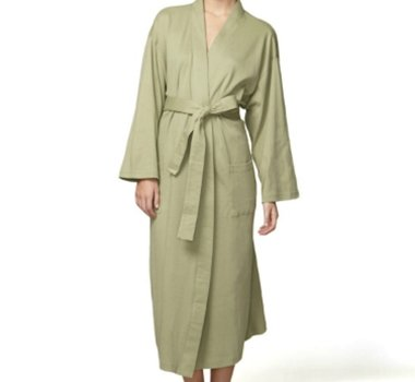 Organic Combed Cotton Bath Robes
