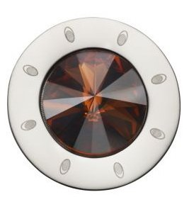 Pavo Real Diam 18mm Cono Crystal Copper Polished
