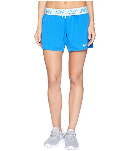 NIKE Women's Flex Attack Training Short Signal Blue/Cobalt Tint Medium ()