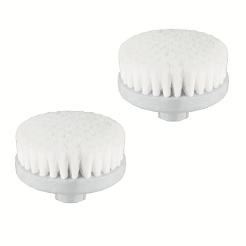 Vanity Planet Spin for Perfect Skin Exfoliating Facial Replacement Brush Head, 2-Pack
