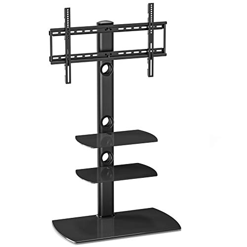 - FITUEYES Floor TV Stand with Swivel Mount Height Adjustable for 32 to 65 inch LCD, LED OLED TVs TT306501GB