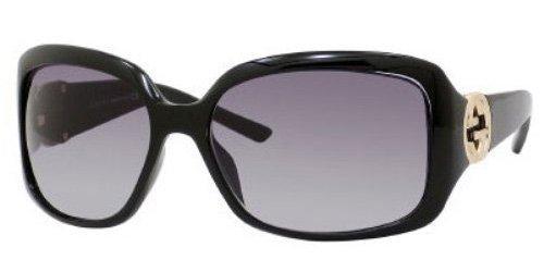 GUCCI 3164/S Sunglasses 0D28 Black (0d28 Sunglasses)
