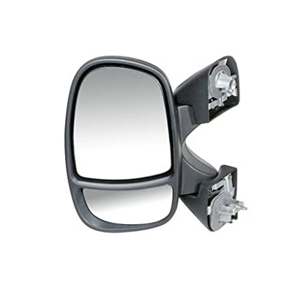 Vauxhall Vivaro 2001-2015 Door Wing Mirror Manual Black N//S Passenger Left