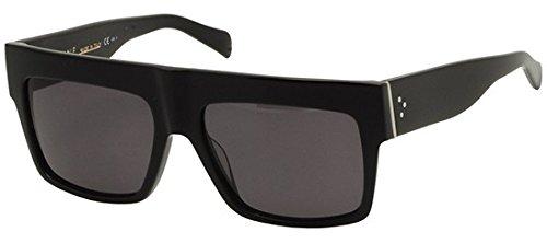 Top Geo Cl41756 Kardashian Square Sunglasses Zz Celine Black Kim WHEb9e2DIY