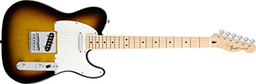 Fender Standard Telecaster Electric Guitar - Maple Fingerboard, Brown Sunburst