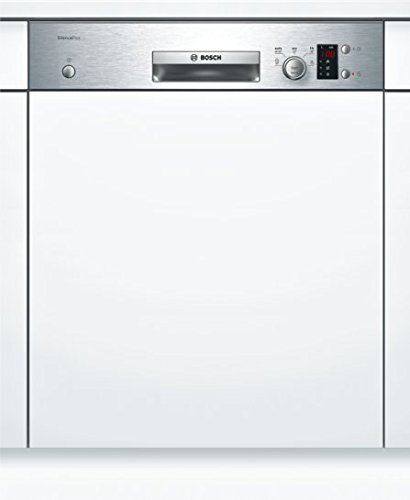Bosch Built-In Dishwasher, 60 cm (Silver, SMI25AS00E)