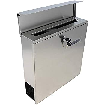 Mpb933 The Vertical Lockable Mailboxes Brushed Stainless