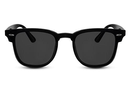 Rondes Noir5 métal Style soleil Cheapass effet de chat plats miroir yeux Lunettes de Verres qZOw7Tat
