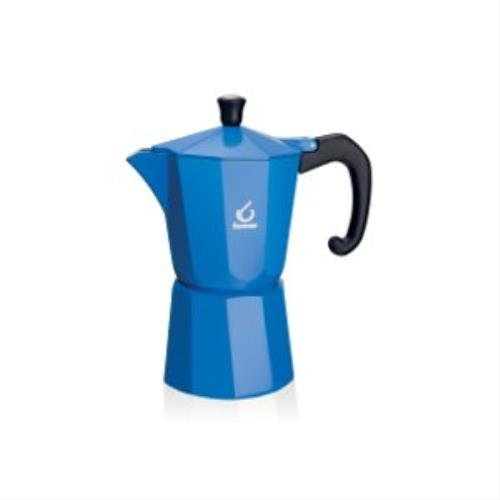 Acquisto Forever KG120133 Caffettiera Miss Moka Super Colori Blu 3tazze Prezzi offerta
