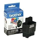 Brother LC41HYBK High-Yield Black Ink Cartridge - Retail Packaging