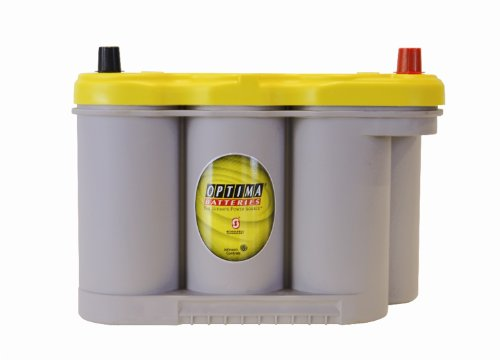 Optima 8037-127 D27F YellowTop Starting and Deep Cycle Battery (27f Battery compare prices)