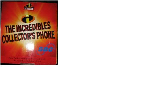 Disney Pixar The Incredibles SBC RED Collector's Phone