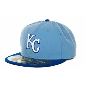New Era Men's Kansas City Royals 59Fifty Fitted Cap 7 3/4 Blue -