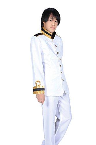 "SDWKIT Hetalia Axis Powers Cosplay Japan ""Kiku Honda"" Uniform 1st Ver Set CUST."