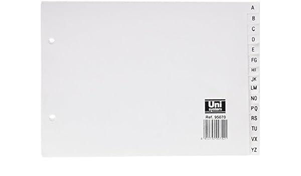 Definiclas 95070 - Pack de 10 archivadores con abecedario: Amazon ...