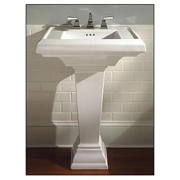pedestal bathroom sinks. American Standard 0790 100 020 24 Inch Town Square Pedestal Bathroom Sink  White 800