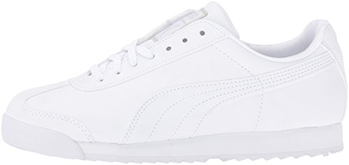 Light Kids' K Jr Gray Puma Basic White Roma O7qxwH