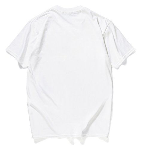 Carina Stampa Pizoff Oversize Hop Hip In shirt Cotone Divertente T Streetwear Y1872 white Unisex twI8nxwrAq